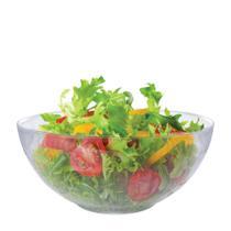 Saladeira - Fruteira - Tigela Bowl de Vidro Gourmet Ruvolo -