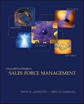 Sales force management - 9th ed - Mhp - Mcgraw Hill Professional