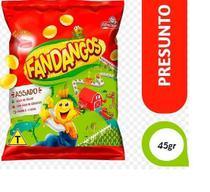 Salgadinho Fandangos Presunto 45g - Elma Chips- Caixa com  120 unidades -