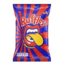 Salgadinho Ruffles Churrasco Elma Chips 92g -