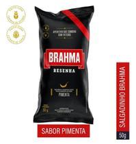Salgadinho Sabor Pimenta  Resenha Brahma 50g -