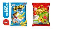 Salgadinhos Cheetos requeijão + Fandangos presunto caixa 120un total - Elma Chips