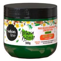 Salon Line Leite de Coco e Óleo de Monoï - Máscara Concentrada Maria Natureza -