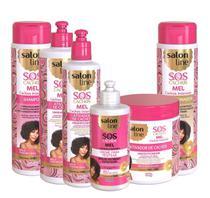 Salon Line Mel Completo Sos Cachos 06 Produtos -