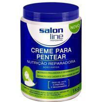Salon Line Nutrição Reparadora Creme P/ Pentear 1kg -