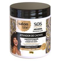 Salon Line S.O.S Cachos Arginina Reconstrução - Ativador de Cachos -