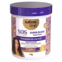 Salon Line S.O.S Cachos Super Óleos Nutritivos - Ativador de Cachos -
