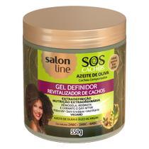 Salon Line SOS Azeite de Oliva - Gel Revitalizador -