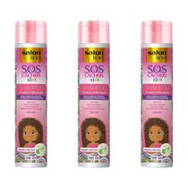 Salon Line Sos Cachos Kids Shampoo 300ml (Kit C/03)