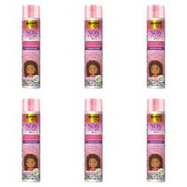 Salon Line Sos Cachos Kids Shampoo 300ml (Kit C/06)