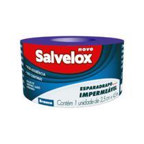 Salvelox Esparadrapo Branco 25cmx4.5m -