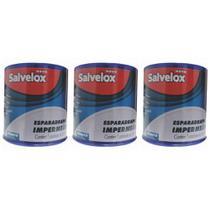 Salvelox Esparadrapo ImpermeÁVel Branco 5cmx4.5m (Kit C/03) -