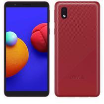 """Samsung Galaxy A01 Core Vermelho, com Tela Infinita de 5.3"""", 4G, 32 GB e Câmera de 8 MP - SM-A013MZRKZTO -"""