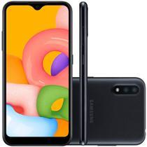 Samsung Galaxy A01 Desbloqueado 32GB 4G Android 10.0 Tela 5.7 Octa-Core Câmera 13MP -