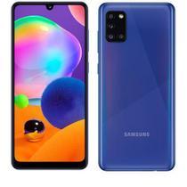 Samsung Galaxy A31 Azul, Tela de 6,4  , 4G, 128GB e Câmera de 48MP + 8MP + 5MP + 5MP - SM-A315GZBKZTO -