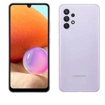 """Samsung Galaxy A32 Violeta, com Tela Infinita de 6,4"""", 4G, 128GB e Câmera Quádrupla de 64MP+8MP+5MP+2MP - SM-A325MLVKZTO -"""