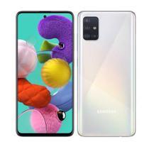 """Samsung Galaxy A51 Branco, com Tela Infinita de 6.5"""", 4G, 128GB e Câmera Quádrupla 48MP+12MP+5MP+5MP -SM-A515FZWBZTO -"""