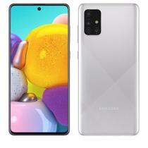 """Samsung Galaxy A71 Cinza, com Tela Infinita de 6.7"""", 6G, 128GB e Câmera Quádrupla 64MP+12MP+5MP+5MP SM-A715FZSJZTO -"""