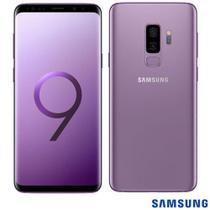 """Samsung Galaxy S9+ Violeta, com Tela de 6,2"""", 4G, 128 GB e Câmera Dupla 12MP+12MP - SGG965 -"""