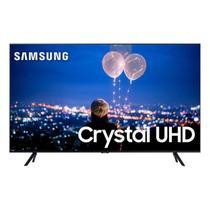 "Samsung Smart TV 55"" Crystal UHD 4K 2020 UN55TU8000 Borda Ultrafina Visual Livre de Cabos Wi-Fi HDMI -"