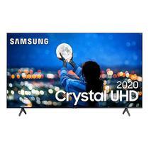 "Samsung Smart TV 58"" Crystal UHD 4K 2020 UN58TU7000 Borda ultrafina Visual Livre de Cabos Wi-Fi HDMI -"
