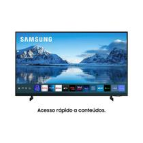 "Samsung Smart TV 60"" Crystal UHD 4K , Painel Dynamic Crystal , Tela sem limites, Visual Livre de Cabos, Alexa built in, Controle Bivolt Preto -"