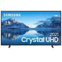 "Samsung Smart TV Crystal UHD 4K 75"", Tela sem Limites, Visual Livre de Cabos, Alexa e Wi-Fi - UN75AU8000GXZD -"