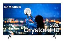 Samsung Smart TV Crystal UHD TU7000 4K, Design sem Limites, Controle Único, Visual Livre de Cabos, Bluetooth, Processador Crystal 4K -