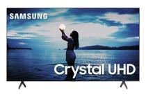 Samsung Smart TV Crystal UHD TU7020 4K 2020, Design sem Limites, Controle Remoto Único, Visual Livre de Cabos, Bluetooth, Processador Crystal 4K -