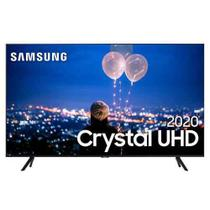 "Samsung Smart TV Crystal UHD TU8000 4K 50"", Borda Infinita, Alexa built in, Controle Único, Visual Livre de Cabos -"