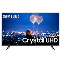 "Samsung Smart TV Crystal UHD TU8000 4K 75"", Borda Infinita, Alexa built in, Controle Único, Visual Livre de Cabos -"