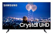 Samsung Smart TV Crystal UHD TU8000 4K, Design sem Limites, Controle Único, Visual Livre de Cabos, Modo Ambiente Foto -