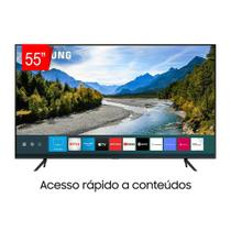 Samsung Smart TV QLED 4K 55Q60T, Pontos Quânticos, Borda Infinita, Alexa, Modo Ambiente Foto -