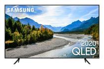 Samsung Smart TV QLED 4K Q60T, Pontos Quânticos, Design sem Limites, Modo Ambiente Foto, Controle Único, Visual Livre de Cabos -