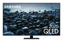 Samsung Smart TV QLED 4K Q80T, Pontos Quânticos, Modo Game, Som em Movimento, Design sem Limites, Modo Ambiente 3.0, Controle Único -