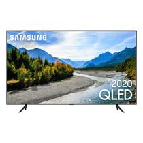 "Samsung Smart TV QLED Q60T 4K 55"" Borda Ultrafina Visual Livre de Cabos -"