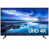 """Samsung Smart TV UHD 4K 43"""" com Processador Crystal 4K, Controle Único, Alexa Built in e Wi-Fi - UN43AU7700GXZD -"""