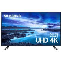 """Samsung Smart TV UHD 4K 58"""" com Processador Crystal 4K, Controle Único, Alexa Built in e Wi-Fi - UN58AU7700GXZD -"""