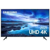 """Samsung Smart TV UHD 4K 70"""" com Processador Crystal 4K, Controle Único, Alexa Built in e Wi-Fi - UN70AU7700GXZD -"""