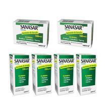 sanasar benzoato de benzila elimina piolhos lêndeas sarna kit 2x sabonete 4x emulsão - kley hertz -