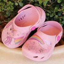 Sandalia Babuche Plugt Rosa Bale Infantil 204-018-249 -