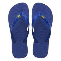 Sandalia chinelo brasil havaianas - azul naval -