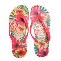 Sandalia chinelo slim hibisco - havaianas - rosa ballet -