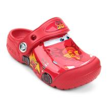 Sandália Crocs Infantil Carros McQueen -