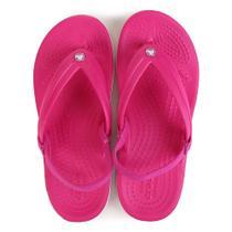 Sandália Crocs Infantil Crocband Strap Flip Feminina -