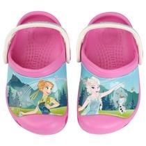 Sandália Crocs Infantil Disney CC Frozen Fever Clog -
