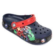 Sandália Crocs Infantil Fan Lab Marvel Band Lght Clog -