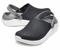 Sandália Crocs Literide Clog - black/smoke -