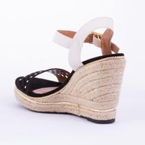 Sandalia feminina vizzano pto branco 35 -