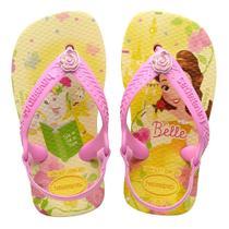 60e561f7f1 Sandália Havaianas Baby Disney Princess Amarelo Polen 25 26 -